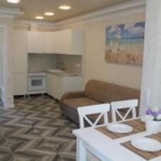 Квартира с элементами морского стиля